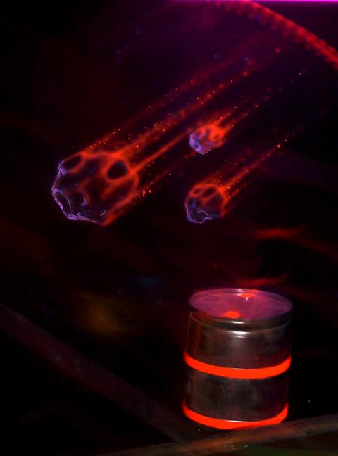 Zero Gravity Laser Tag